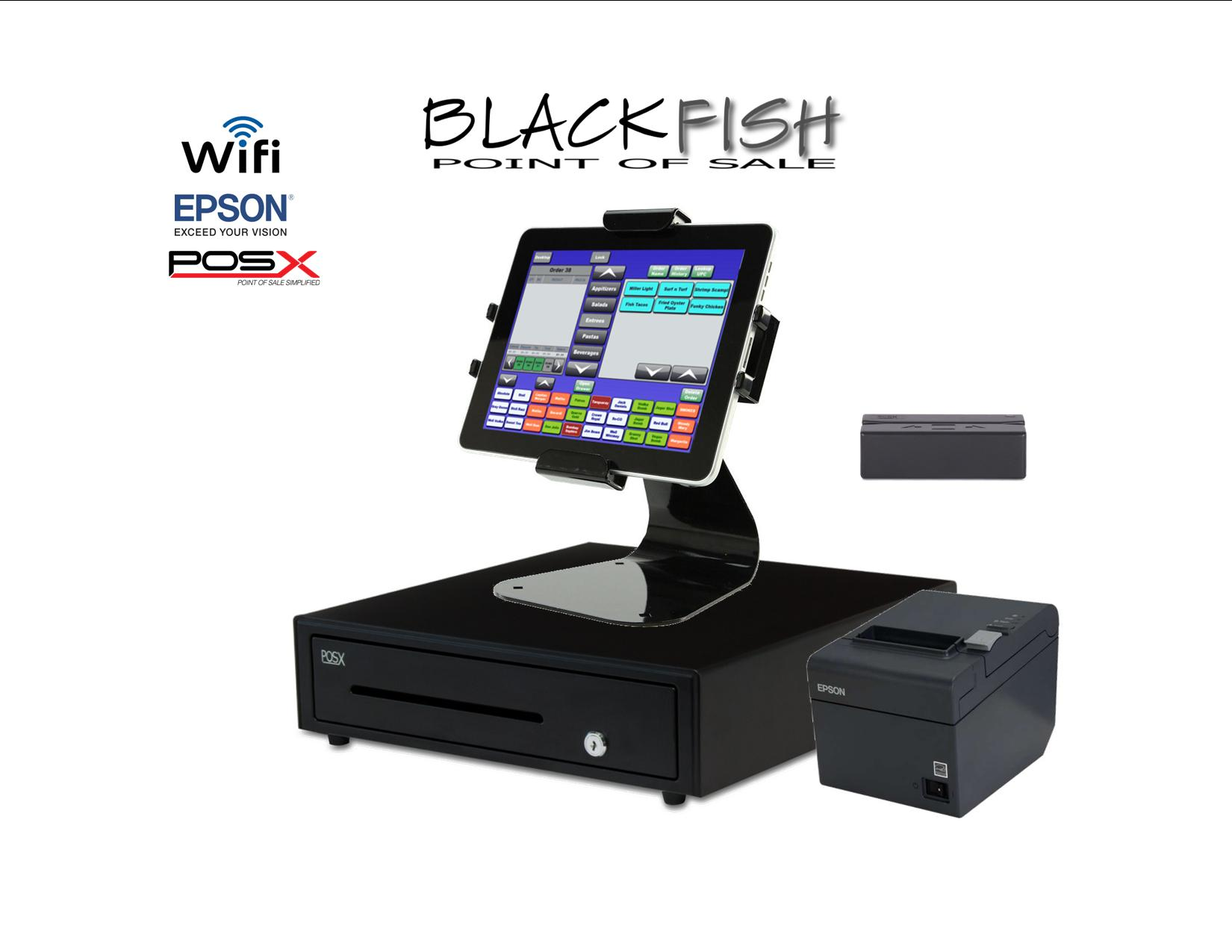 1 Station Tablet Bar Restaurant Pos System Blackfish Pos