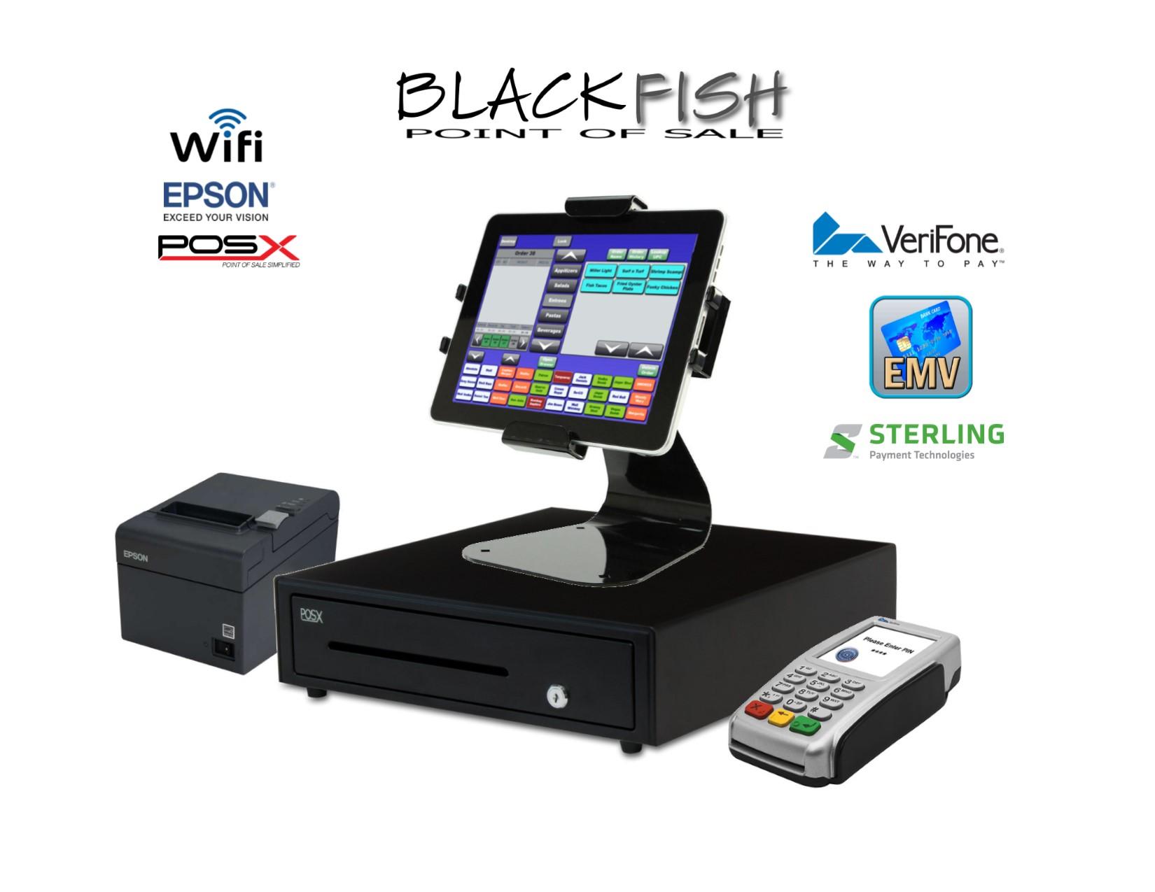 Emv Tablet Bar Restaurant Pos System Blackfish Pos